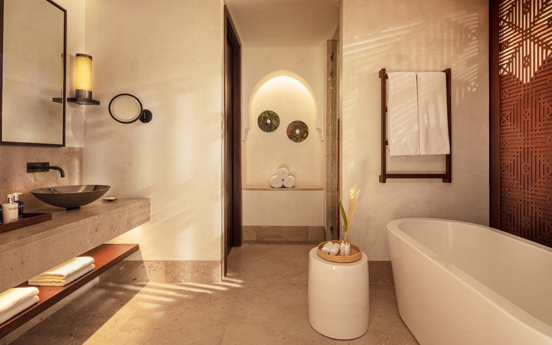 RKF Luxury Linen, partner of the new stunning resort Anantara Tozeur in Tunisia