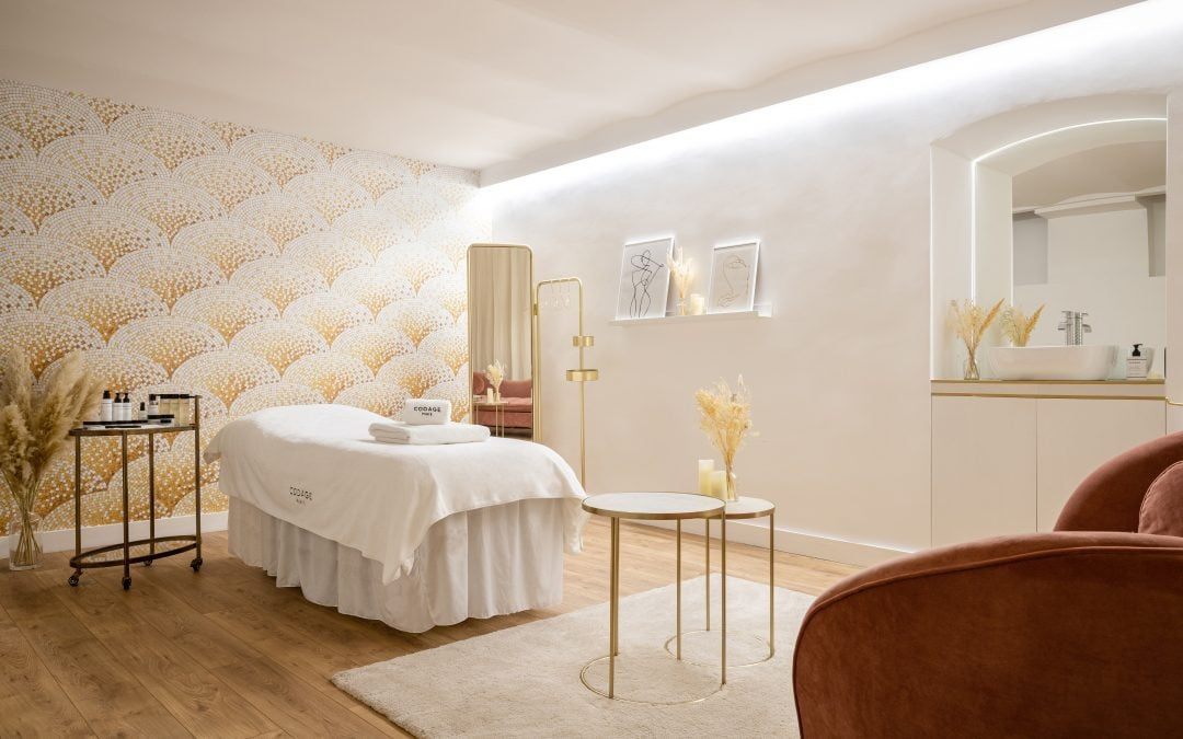RKF Luxury Linen collaborates with CODAGE Paris, a Contemporary Apothecary.