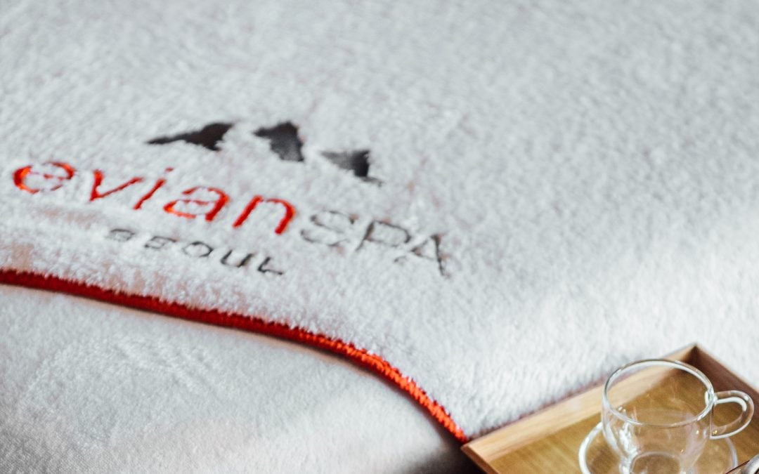 A new partnership between RKF Luxury Linen and evian®SPA